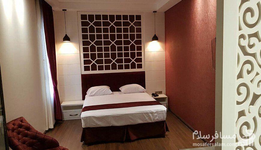 اتاق دوتخته معمولی هتل نسیم مشهد