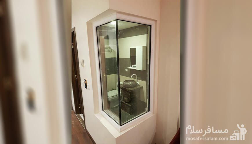 حمام و دستشویی هتل نسیم مشهد
