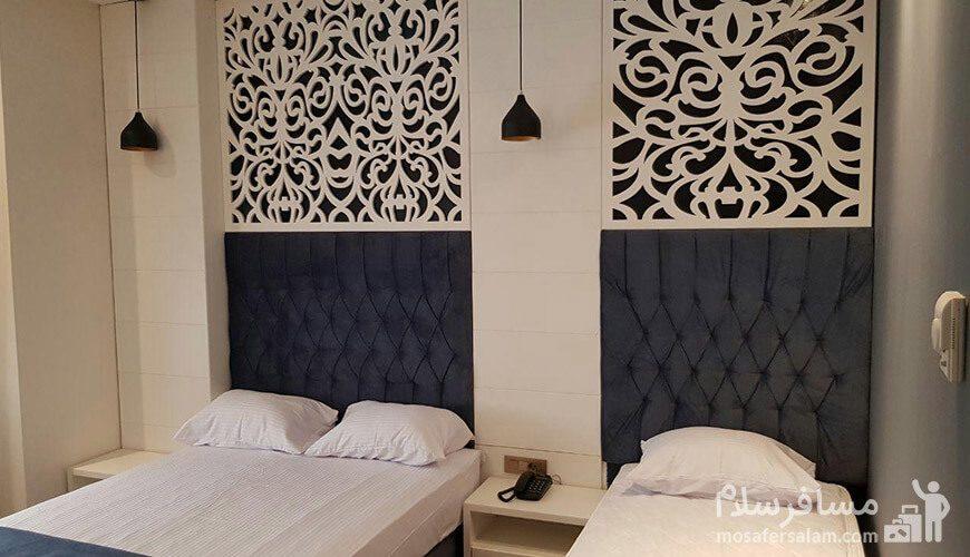سهتخته هتل نسیم مشهد