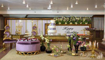 جشن تولد ویژه متولدین شهریورماه در هتل بین المللی قصر مشهد