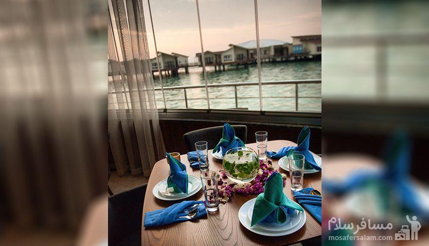 رستوران بزرگ خورشید هتل ترنج کیش