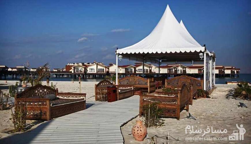 کافه هتل ترنج | اولین هتل 5 ستاره دریایی ایران