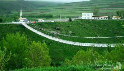 احداث سومین پل معلق جهان در خلخال