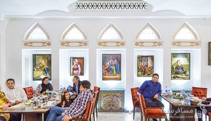 تصاویر رستوران دیبا هتل اسپیناس تهران