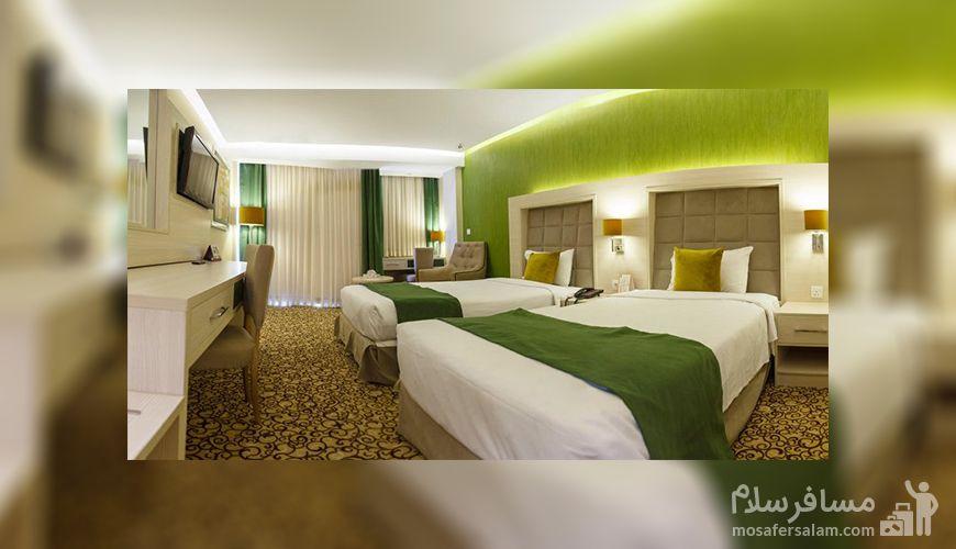 اتاق هتل انقلاب تهران، رزرواسیون مسافر سلام