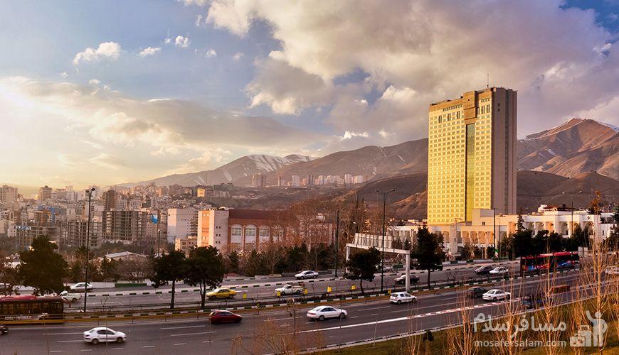 آدرس هتل آزادی تهران کجاست؟