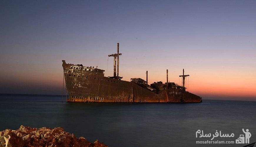 کشتی یونانی, کشتی یونانی جزیره کیش