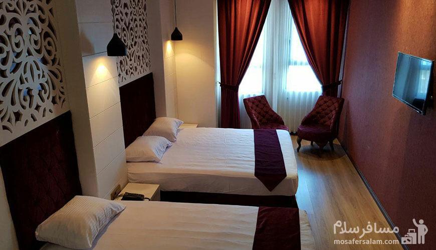 هتل نسیم مشهد, اتاق خواب