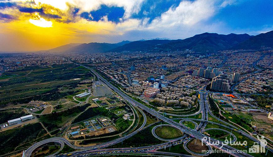 تهران, رزرواسیون مسافر سلام