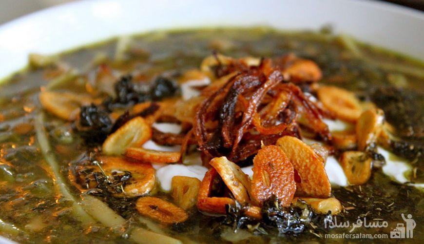 آش اوماج تبریز, غذای سنتی تبریز