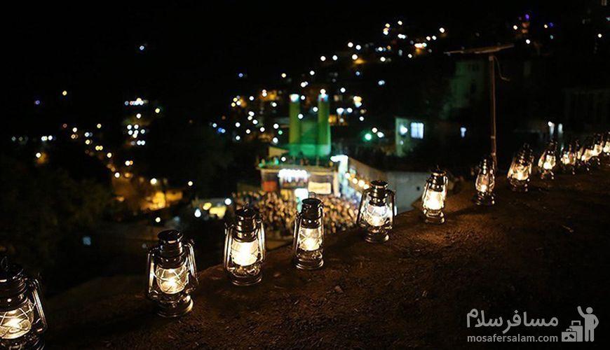 شب عاشورا در ماسوله