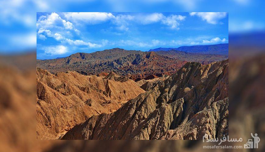 فضای مریخی کوه های چابهار