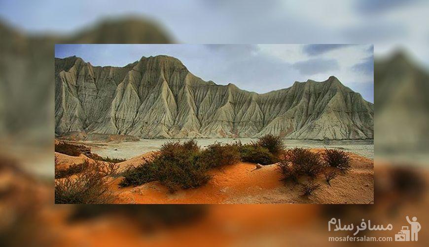 کوه های مریخی چابهار, مریخ در ایران