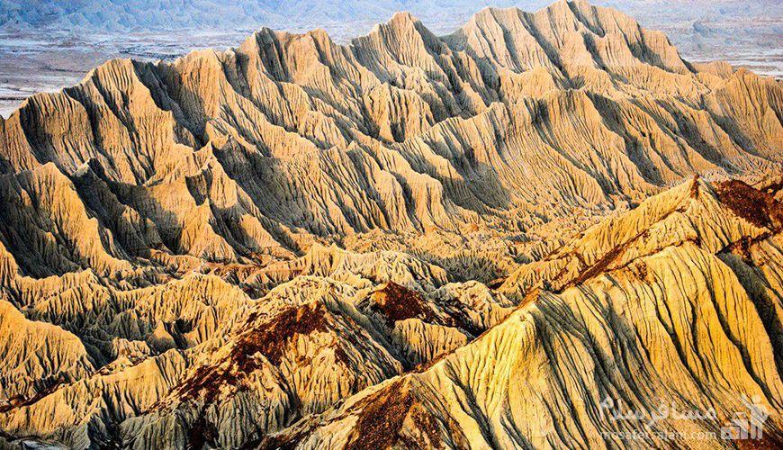 مریخ, کوه های مریخی ایران
