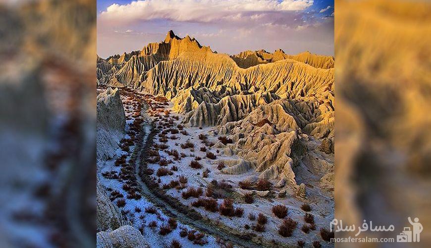 مسیر کوه های مریخی, کوه های مینیاتوری چابهار