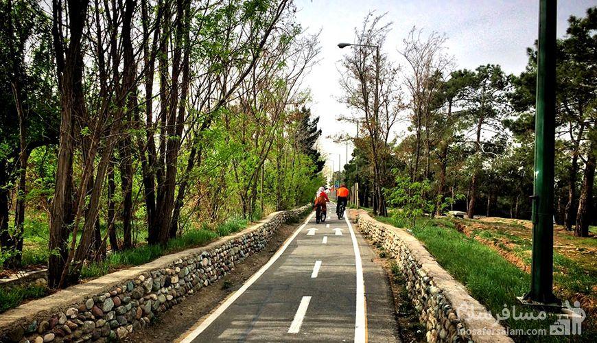 پیست دوچرخه سواری چیتگر