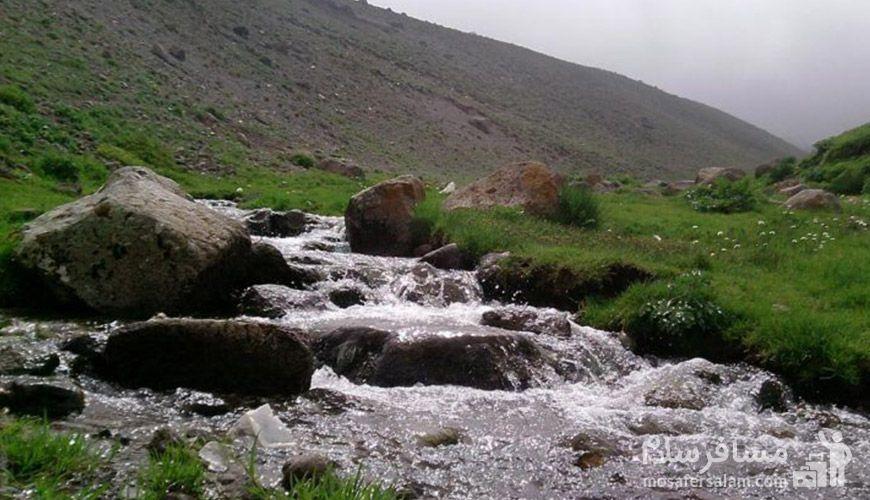 داغ ترین چشمه آب گرم جهان