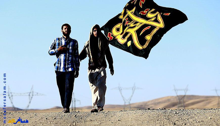 کاروان پیاده روی به مشهد, شهادت امام رضا (ع)
