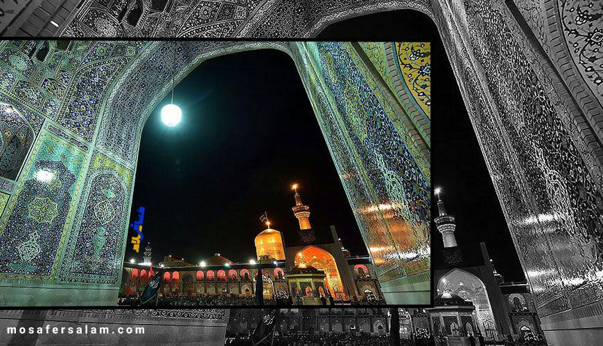 حال و هوای شهادت امام رضا (ع) در مشهد