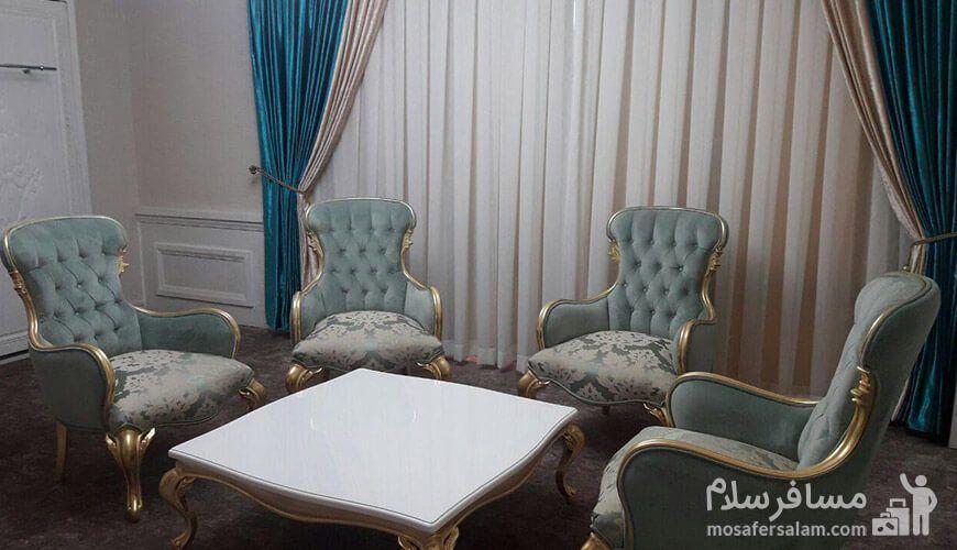لابی هتل آدینا مشهد, رزرواسیون مسافر سلام