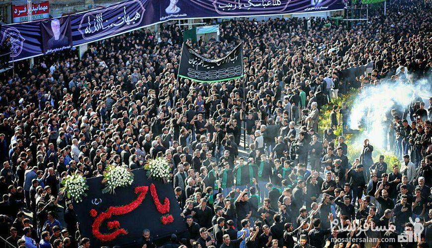 محرم در زنجان, نذورات از آداب و رسوم زنجانی ها در ماه محرم