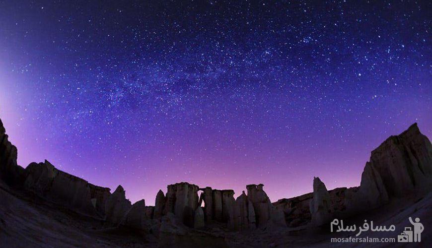 از دره ستاره ها تا طولانی ترین غار نمک جهان