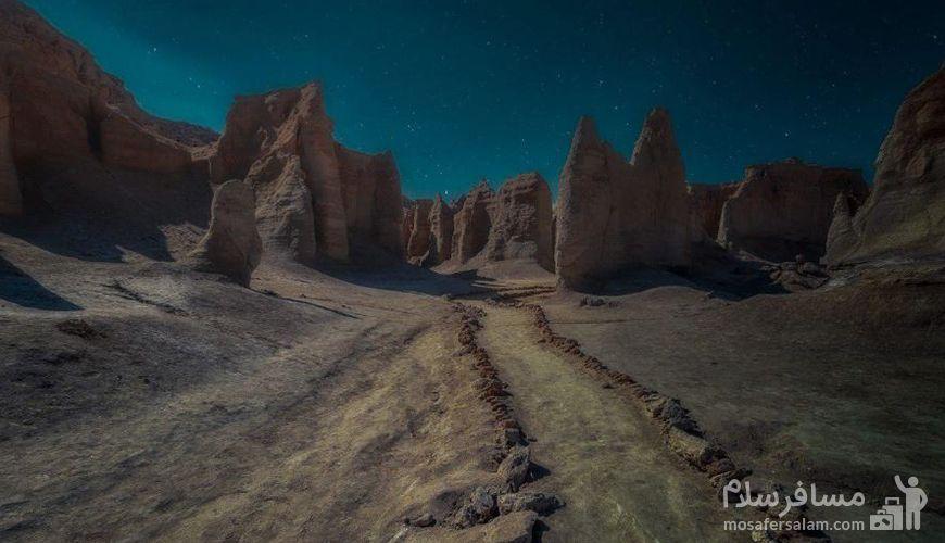 دره ستارگان جزیره قشم