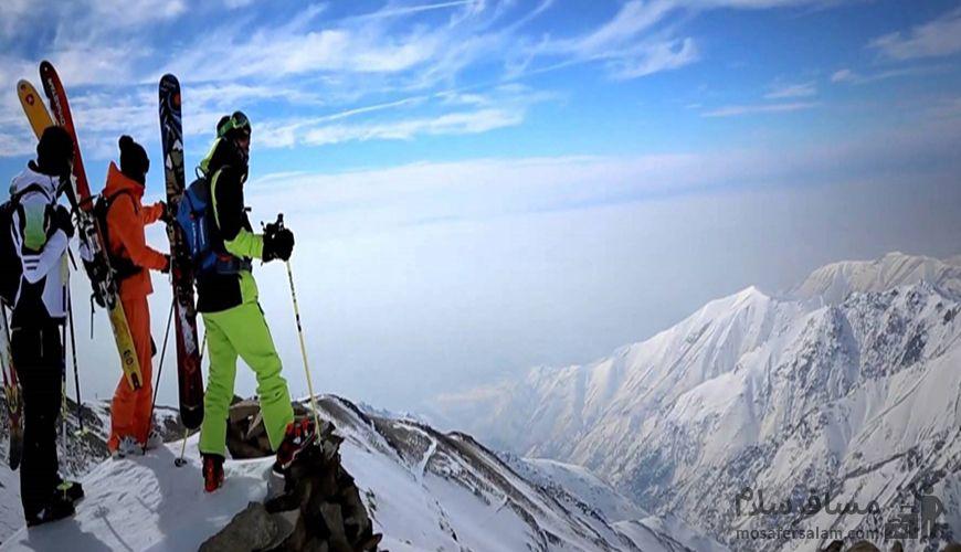 قله های پیست دیزین, گروه گردشگری مسافر سلام
