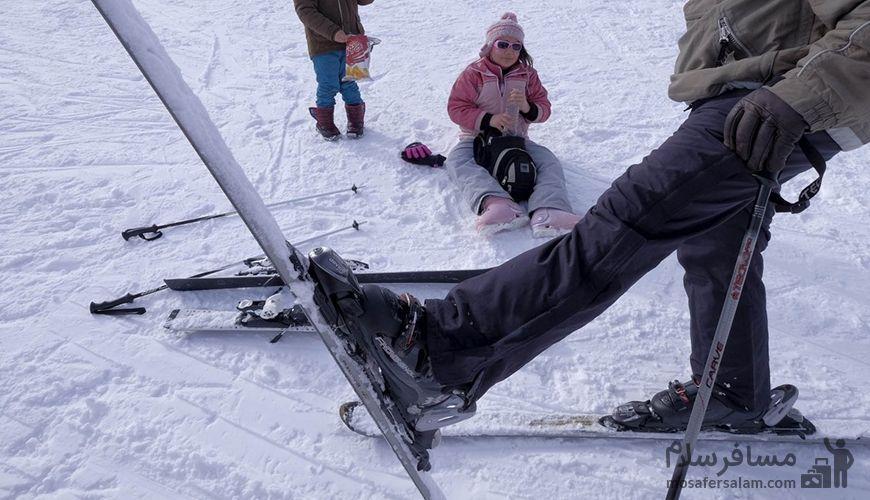 اسکی در دیزین ایران, گروه گردشگری مسافر سلام