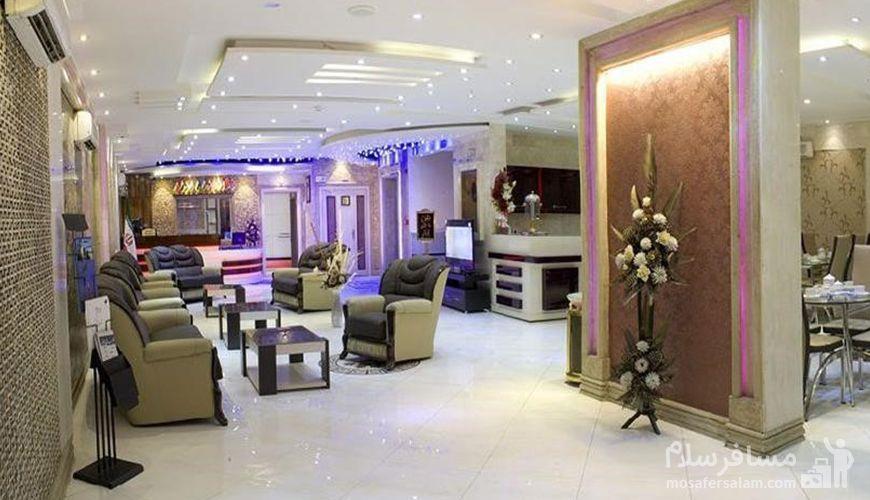 آدرس و تلفن هتل اسپینو مشهد