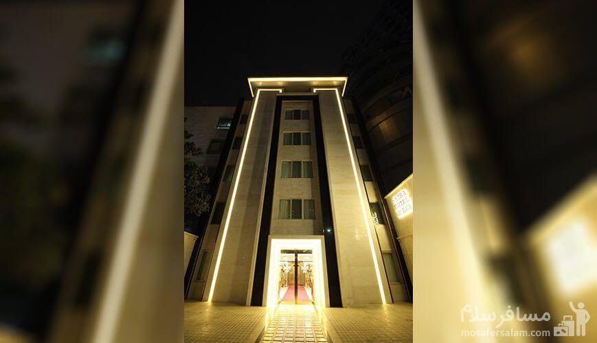 هتل صدرا مشهد, رزرواسیون مسافر سلام