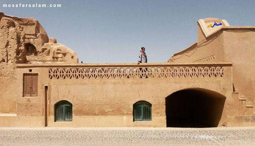 روستا فهرج یزد, معماری روستا فهرج یزد