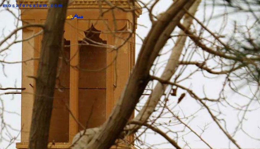 آب انبار حسینیه فهرج یزد