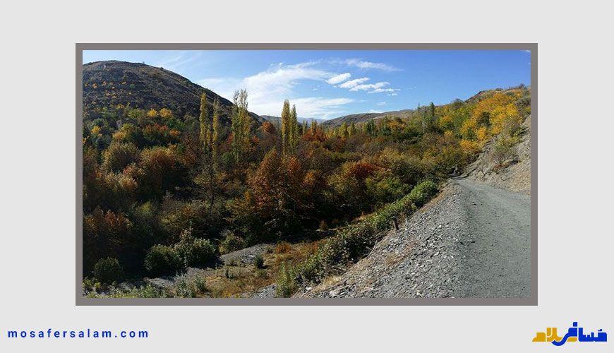 روستا جاغرق | جاهای دیدنی اطراف مشهد