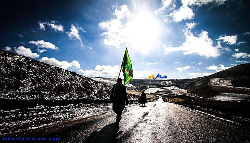 آیین پیاده روی به مشهد الرضا در پایان ماه صفر