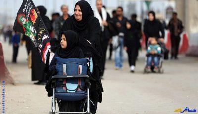 همراه داشتن کودکان در پیاده روی اربعین حسینی