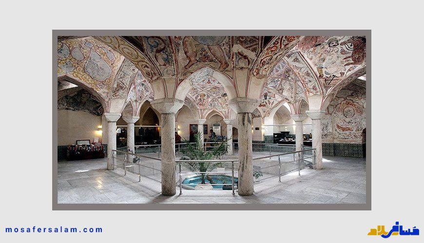 جاهای دیدنی اطراف مشهد | حمام مهدی قلی بیگ