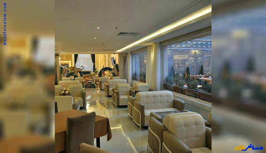 هتل تابران مشهد, رزرواسیون مسافر سلام