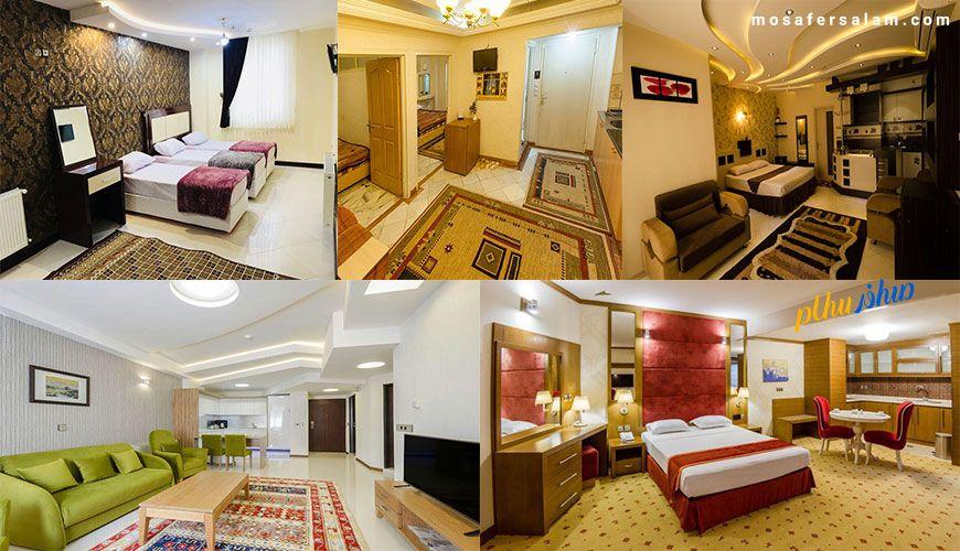 هتل آپارتمان ارزان مشهد