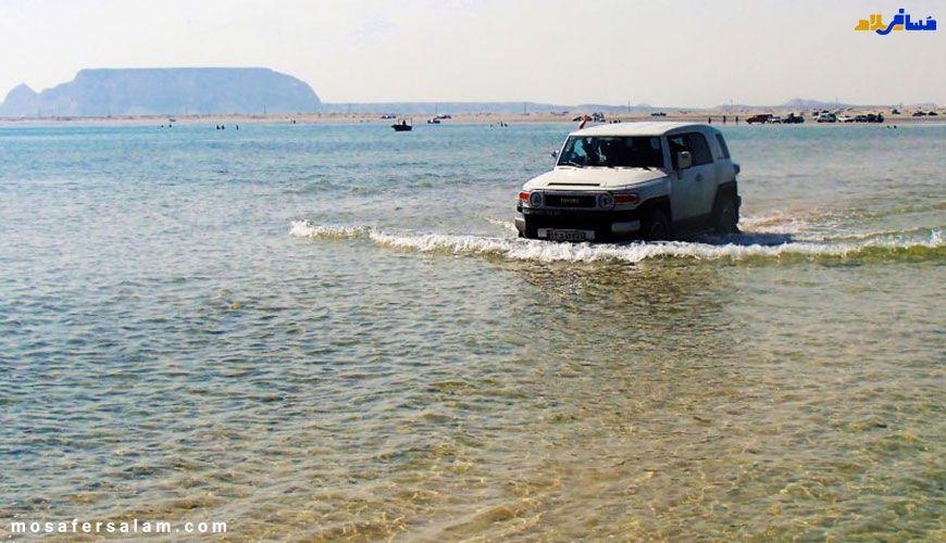ماشین سواری در جزایر ناز
