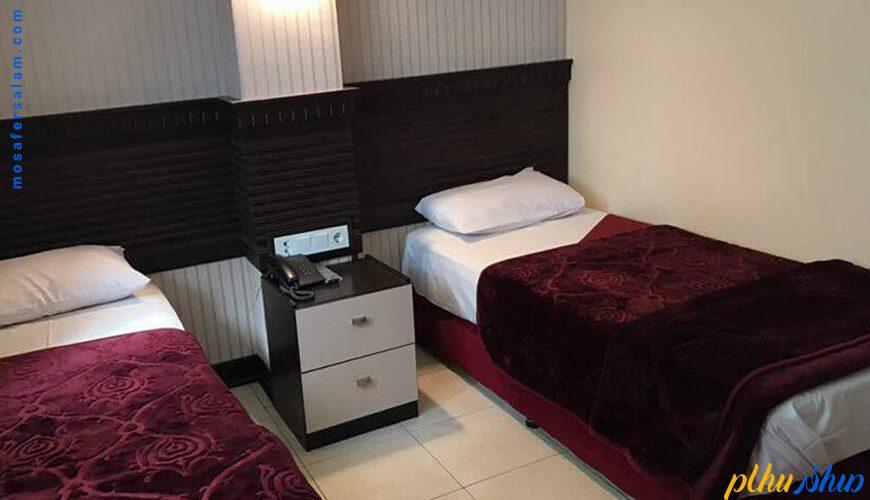 اتاق هتل آپارتمان تشریفات قم