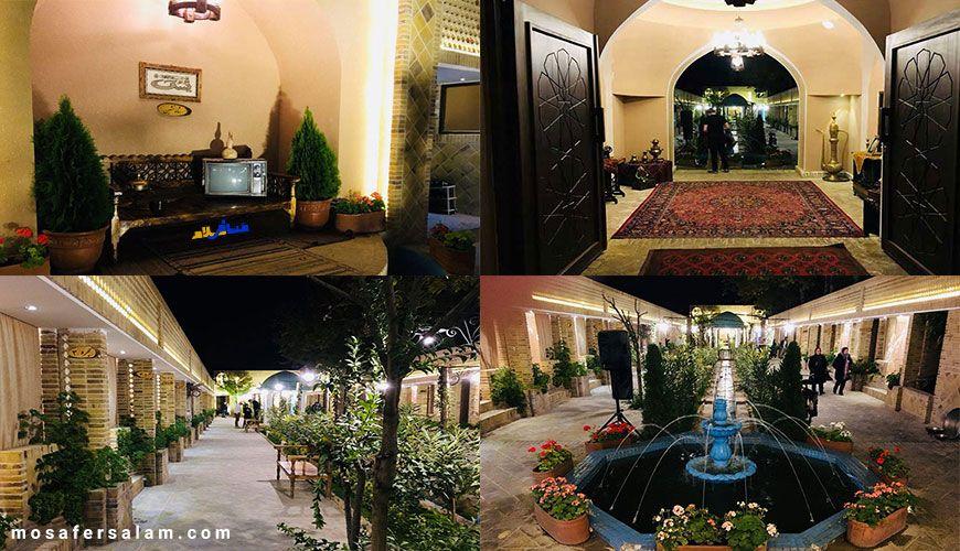 سفره خانه سنتی عمارت یزدان مشهد