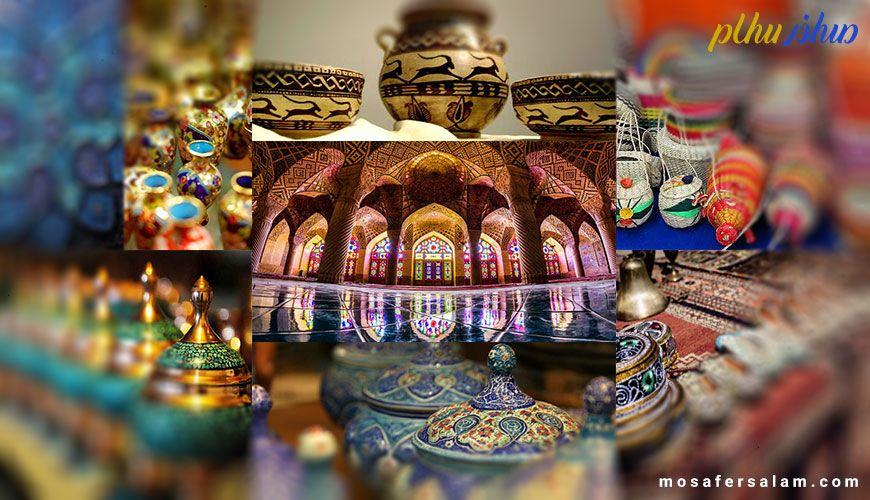 زیباترین و پرفروشترین سوغات و صنایع دستی شیراز