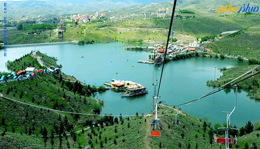 دریاچه چالیدره مشهد