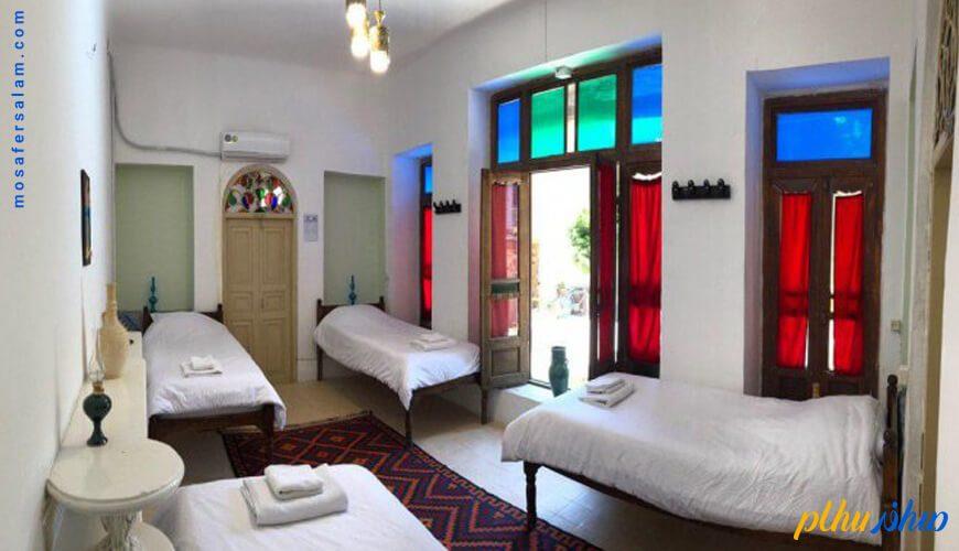 اتاق اقامتگاه سنتی اشکان اصفهان