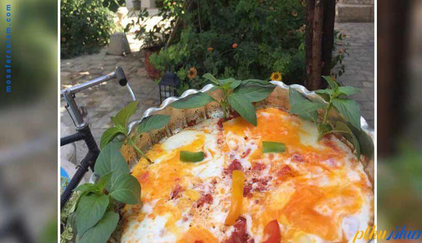 نمونه صبحانه اقامتگاه سنتی اشکان اصفهان