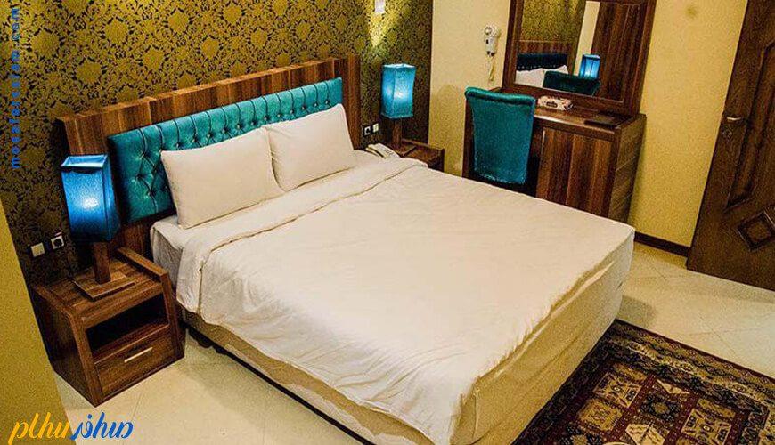 اتاق هتل آپارتمان مهستان مشهد