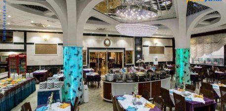 رستوران هتل آپارتمان مهستان مشهد