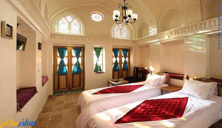 اتاق خانه سنتی ادیب کاشان