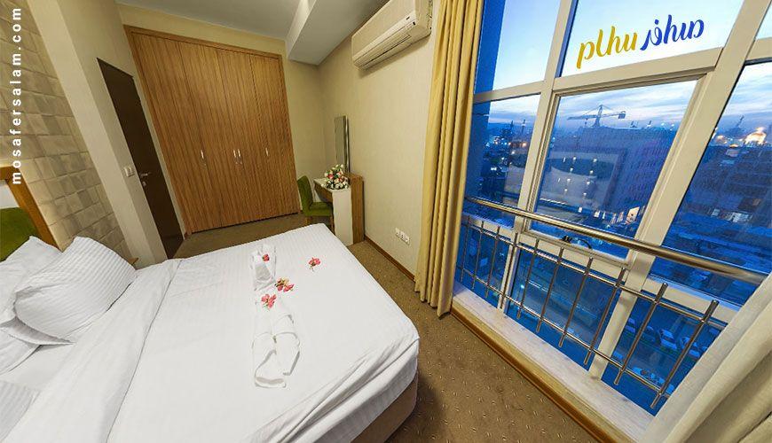 آپارتمان یکخوابه هتل حیات شرق | رزرو هتل مشهد